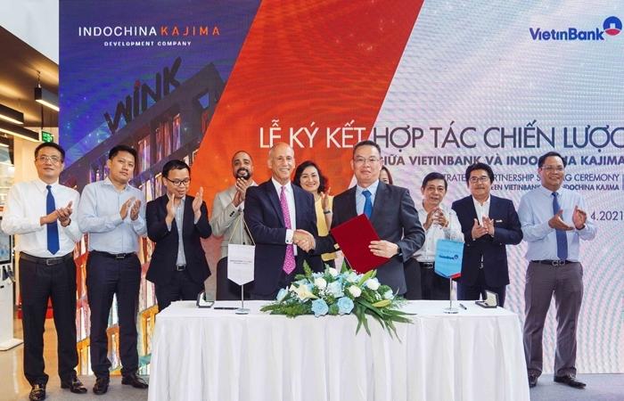 VietinBank và Indochina Kajima ký kết thỏa thuận hợp tác chiến lược