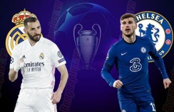 Xem trực tiếp Real Madrid vs Chelsea ở đâu?