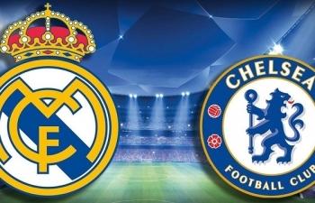 Link xem trực tiếp Real Madrid vs Chelsea (Cup C1 Châu Âu), 2h ngày 28/4