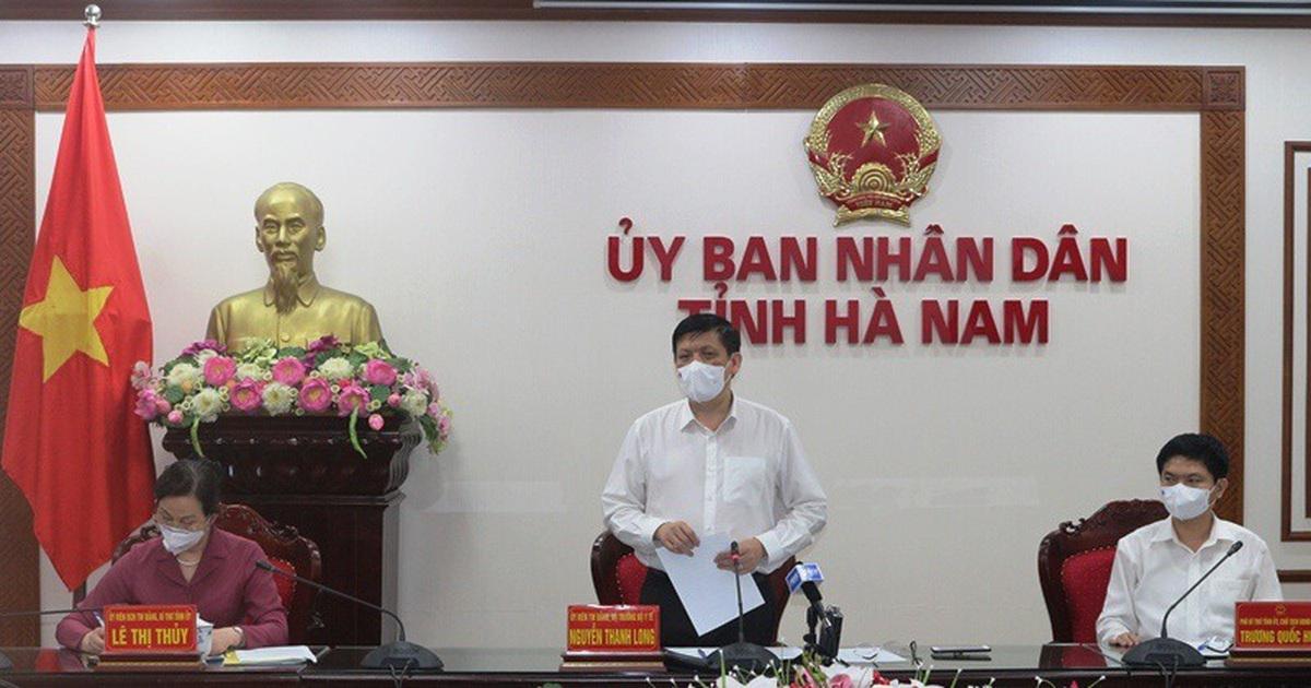 Hà Nam: Bộ Y tế yêu cầu lấy mẫu xét nghiệm toàn bộ người dân thôn Quan Nhân