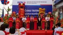 BIDV khai trương Phòng giao dịch Nguyễn Văn Huyên