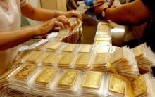 Vàng chốt phiên 26/5 tăng 60.000 đồng/lượng
