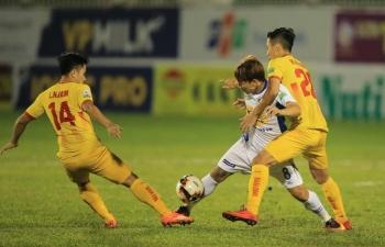 Link xem trực tiếp bóng đá Hoàng Anh Gia Lai vs Nam Định (V-League 2019), 17h ngày 5/5
