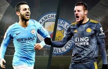 Xem trực tiếp bóng đá Man City vs Leicester (Ngoại hạng Anh), 2h ngày 7/5