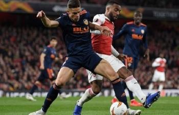 Xem trực tiếp bóng đá Valencia vs Arsenal ở đâu?