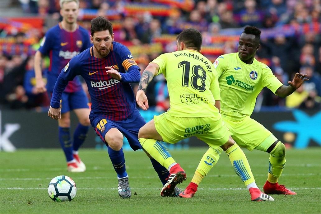 Kết quả hình ảnh cho Barcelona vs Getafe