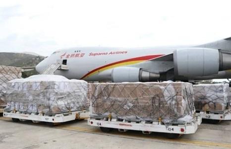 may bay trung quoc cho hang vien tro den venezuela