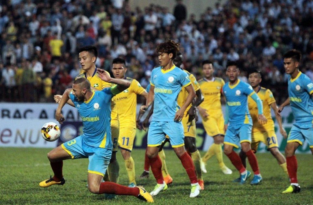 Link xem trực tiếp bóng đá Sông Lam Nghệ An vs Khánh Hoà (V-League 2019), 17h ngày 18/5