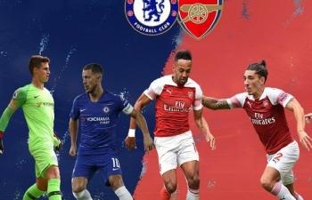 Xem trực tiếp bóng đá Chelsea vs Arsenal (Chung kết Cup C2 Châu Âu), 2h ngày 30/5