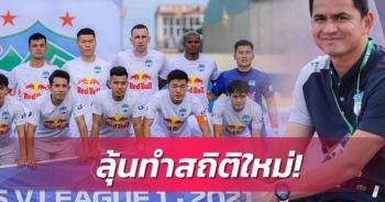 Báo Thái háo hức chờ HLV Kiatisuk lập kỷ lục cùng HA Gia Lai