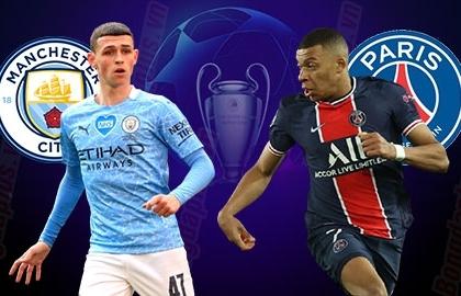 Xem trực tiếp Man City vs PSG ở đâu?