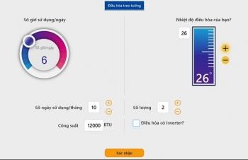 EVN triển khai công cụ giúp khách hàng tự ước tính sản lượng điện tiêu thụ trong sinh hoạt