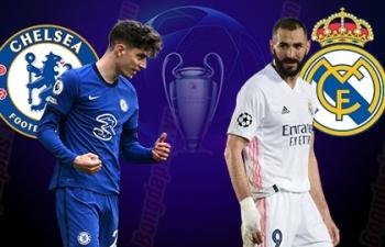 Xem trực tiếp Chelsea vs Real Madrid ở đâu?