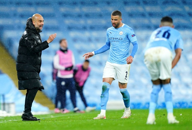 Man City 2-0 PSG: Cú đúp của Mahrez và Di Maria bị đuổi - 3