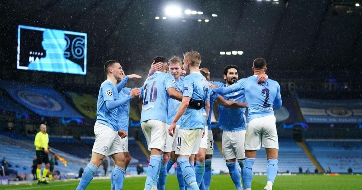 Man City 2-0 PSG: Cú đúp của Mahrez và Di Maria bị đuổi