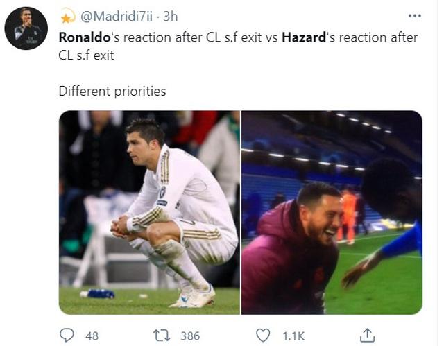 Nụ cười Eden Hazard và cái tát vào niềm kiêu hãnh của Real Madrid - 1