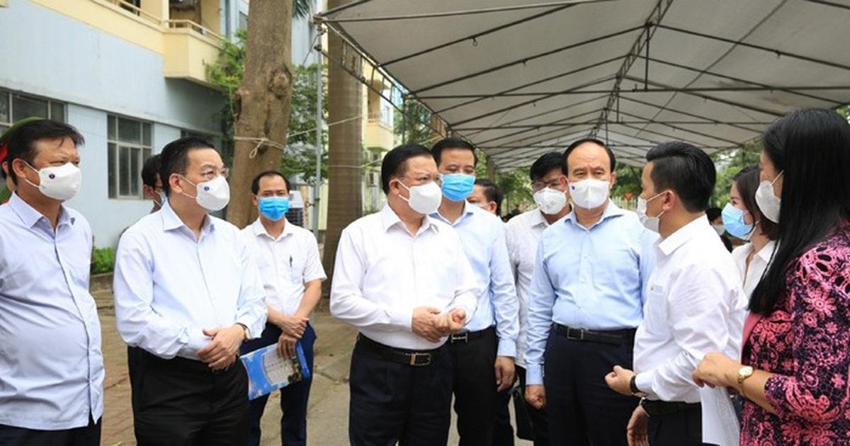 Bí thư Hà Nội: Thủ đô đang có 2 chùm ca bệnh phức tạp tại 2 bệnh viện lớn