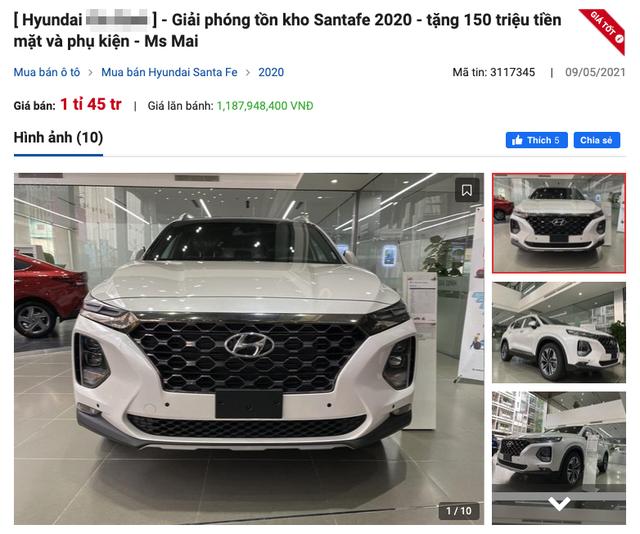 Đại lý giảm 150 triệu đồng cho Hyundai SantaFe: Dọn kho chờ bản mới? - 1