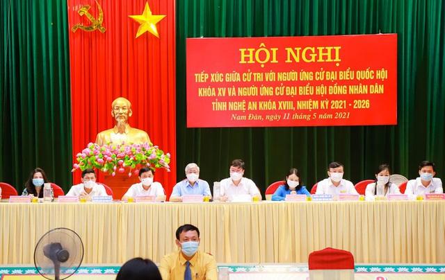 Đảm bảo an sinh là ưu tiên của nhiều ứng viên đại biểu Quốc hội tại Nghệ An - 1