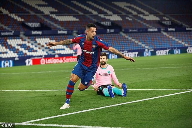 Messi ghi bàn, Barcelona vẫn hòa thất vọng và cơ hội vô địch mong manh - 5