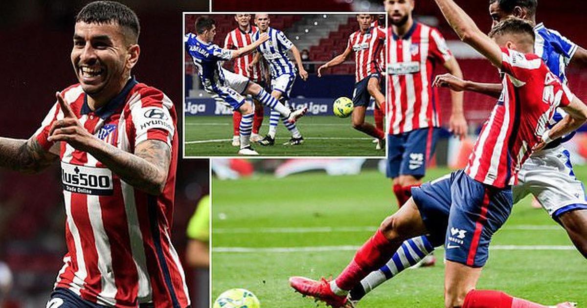 Giành 3 điểm quan trọng, Atletico rộng cửa vô địch La Liga