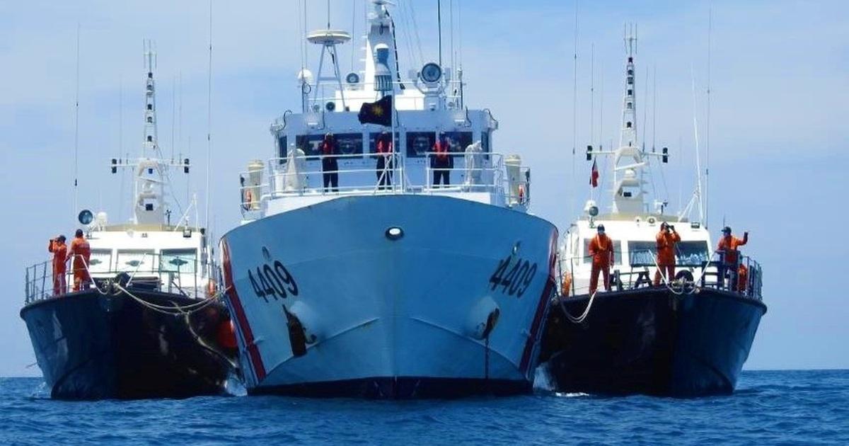 Trung Quốc điều thêm tàu đến đá Ba Đầu, Bộ Ngoại giao phản đối
