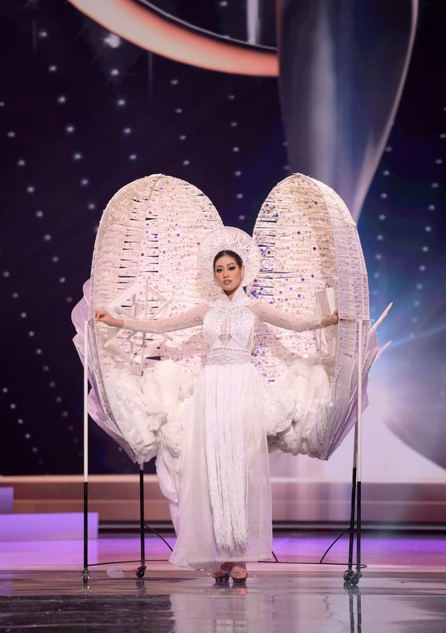 Trước thềm bán kết, Khánh Vân được dự đoán lọt top 10 Hoa hậu Hoàn vũ 2020 - 10