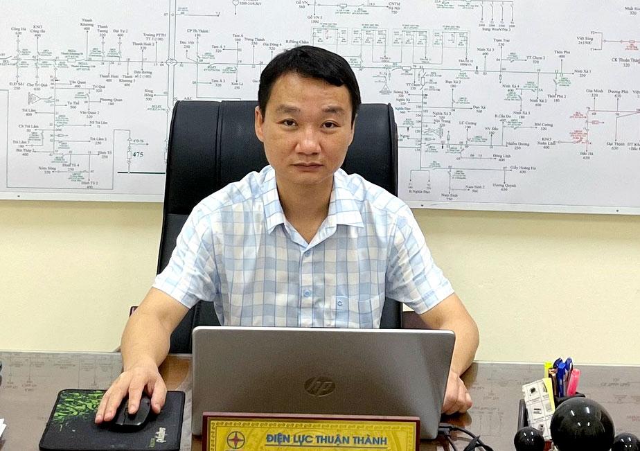 Điện vẫn thông suốt ở tâm dịch Thuận Thành