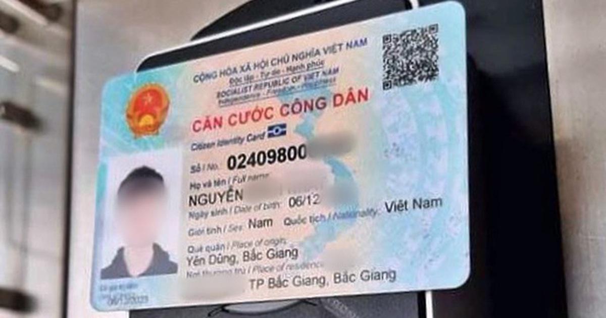 Công dân mất thẻ căn cước công dân có bị lộ thông tin cá nhân không?