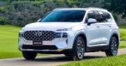 Hyundai Santa Fe 2021 chào khách Việt, tăng giá gần 100 triệu đồng