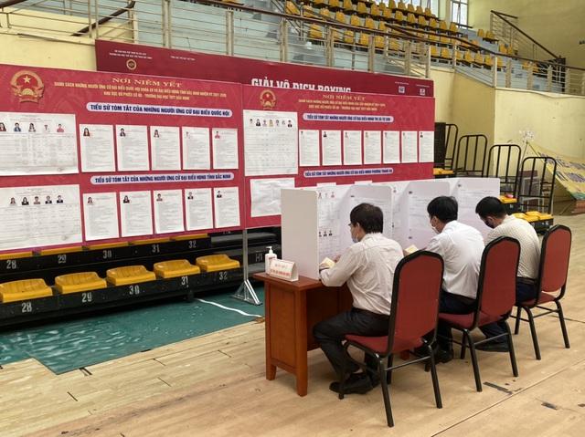 Bắc Ninh tổ chức bầu cử sớm trong khu cách ly - 2