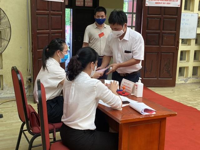 Bắc Ninh tổ chức bầu cử sớm trong khu cách ly - 4