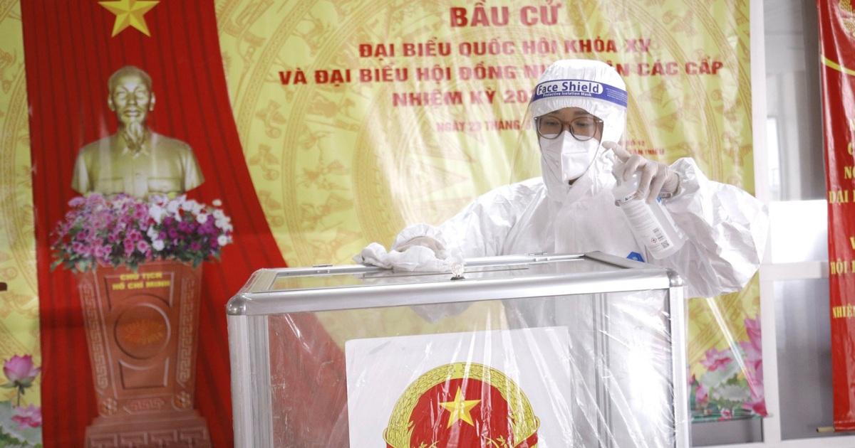 Kịch bản nào nếu có đại biểu, cử tri tham gia bầu cử nhiễm SARS-CoV-2?