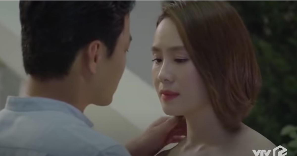 """Hồng Đăng- Hồng Diễm lại… """"hôn hụt"""" tập cuối """"Hướng dương ngược nắng"""""""