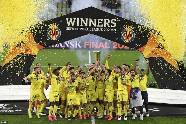 Man Utd thua đau đớn Villarreal ở trận chung kết Europa League - 1