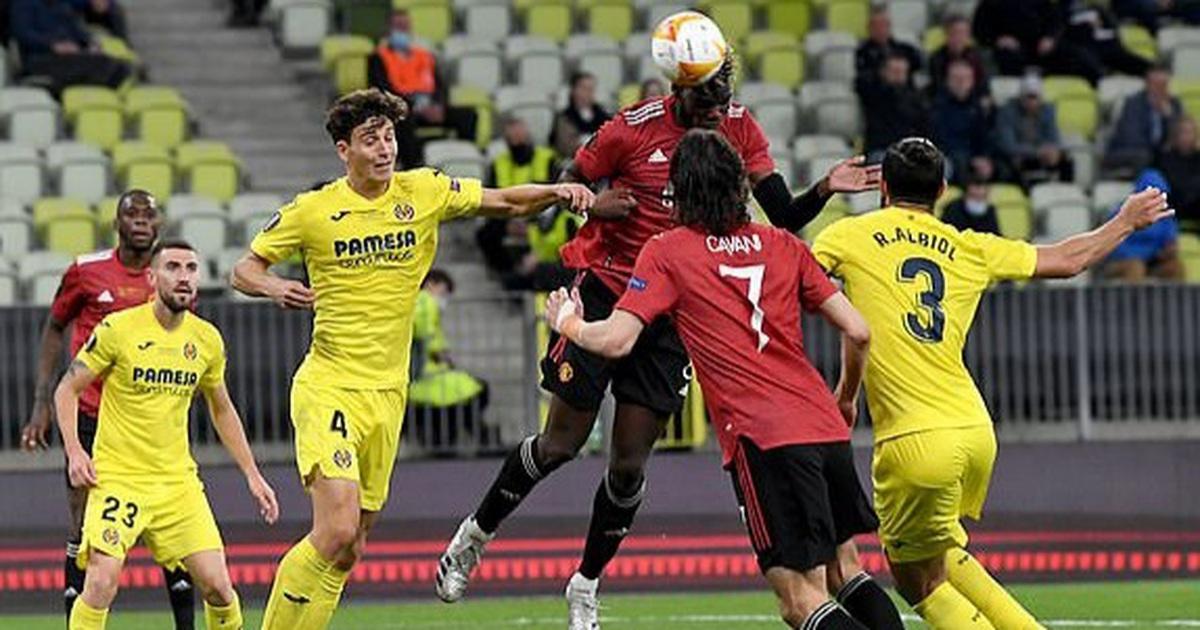 Man Utd thua đau đớn Villarreal ở trận chung kết Europa League