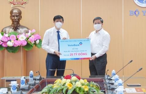 VietinBank đã dành gần 100 tỷ đồng cùng Chính phủ và các địa phương phòng, chống dịch COVID-19