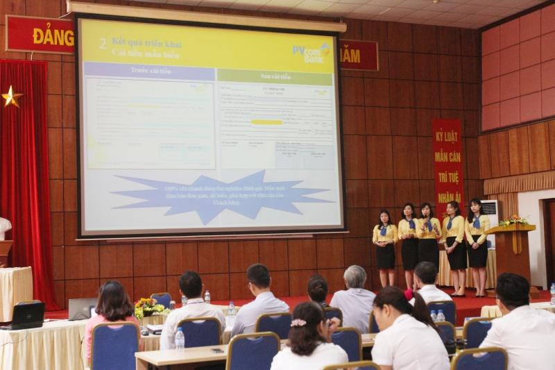 pvcombank dat giai nhi cuoc thi cai tien nang suat chat luong 2017