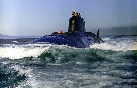 Cú va chạm giữa tàu ngầm hạt nhân Liên Xô và tàu sân bay Mỹ năm 1984