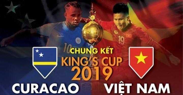 chung ket kings cup 2019 viet nam 1 1 curacao pen 4 5