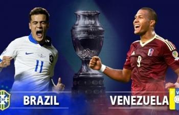 truc tiep copa america 2019 xem truc tiep brazil vs venezuela o dau