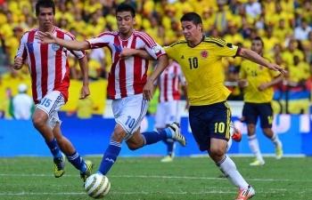 xem truc tiep colombia vs paraguay o dau