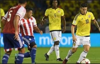 Link xem trực tiếp Colombia vs Paraguay (Copa America), 2h ngày 24/6