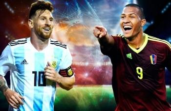 truc tiep copa america xem truc tiep venezuela vs argentina o dau