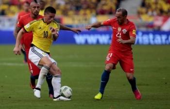 Link xem trực tiếp Colombia vs Chile (Copa America 2019), 6h ngày 29/6