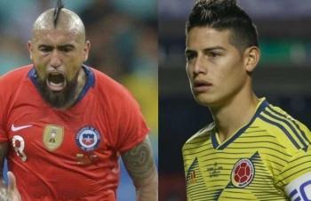 Trực tiếp Copa America: Xem trực tiếp Colombia vs Chile ở đâu?
