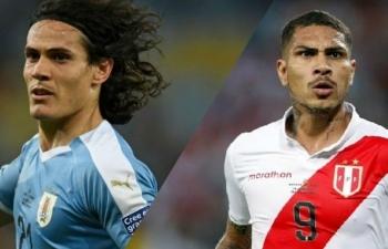 Link xem trực tiếp Uruguay vs Peru (Copa America), 2h ngày 30/6