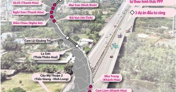 Chỉ chuyển tối đa 3 dự án trên cao tốc Bắc - Nam sang đầu tư công
