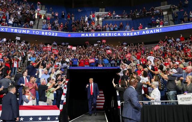 Tổng thống Trump trở lại đường đua tái tranh cử giữa nhiều
