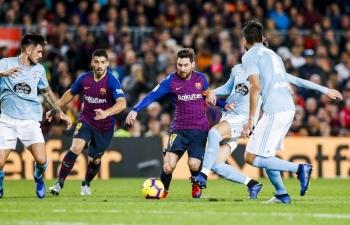 Link xem trực tiếp Celta Vigo vs Barcelona (La Liga), 22h ngày 27/6